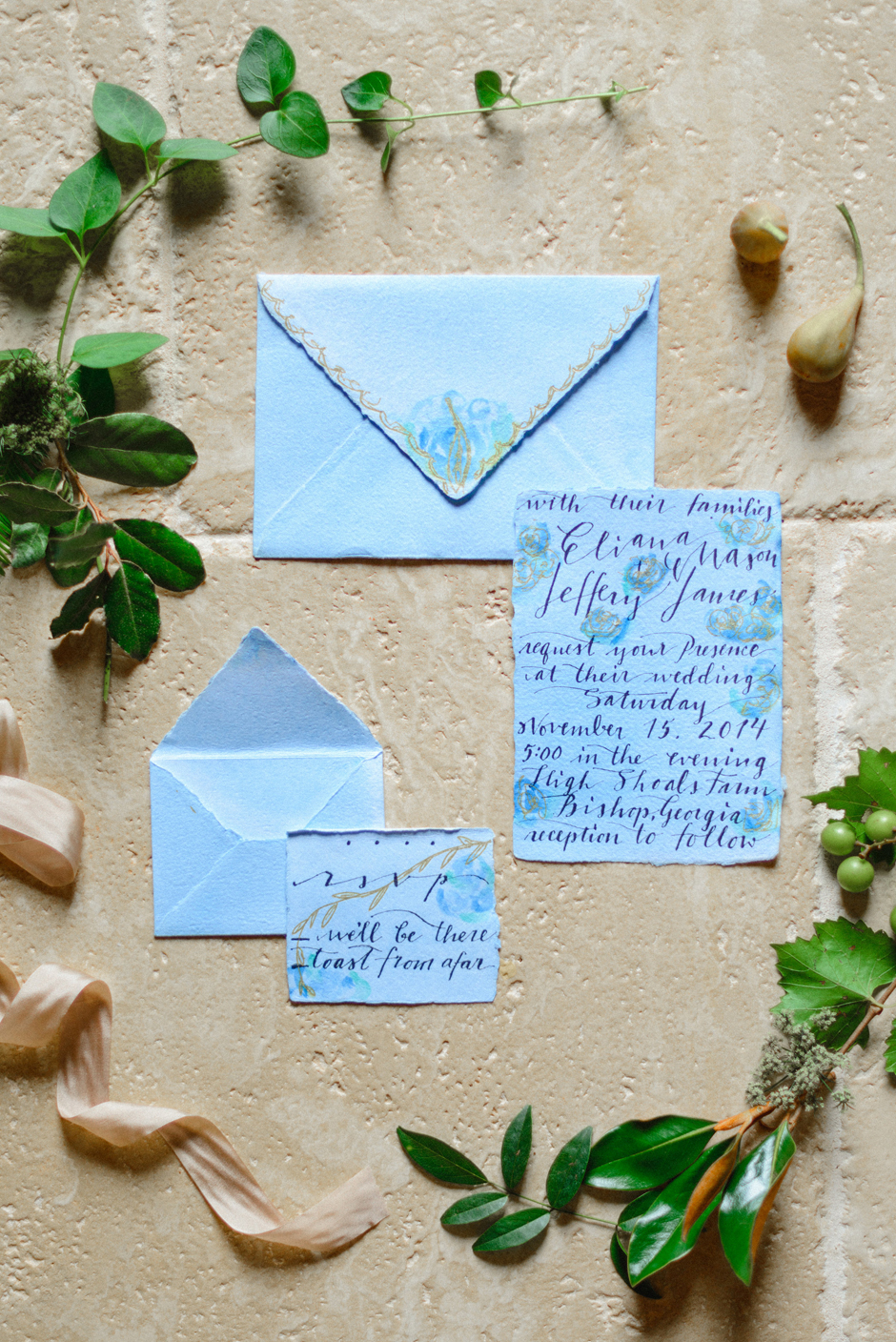The Farm at High Shoals - Classic, Romantic, Traditional Wedding Stationary Inspiration and Ideas
