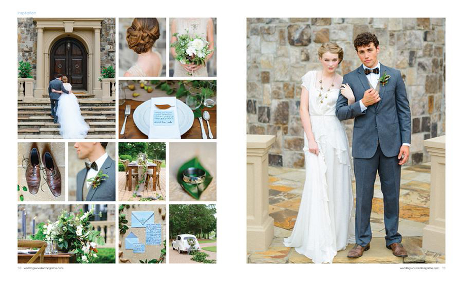 The Farm at High Shoals - Weddings Unveiled Magazine Feature Cover