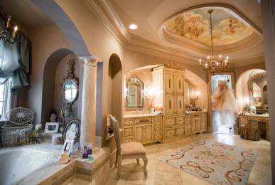A Luxurious Mansion Crafted With An Old World Italian Style
