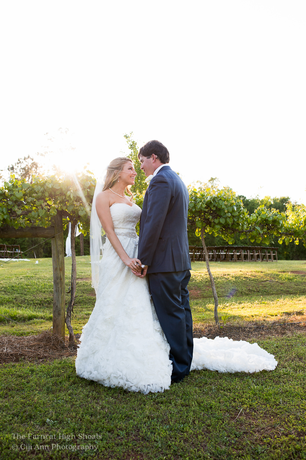 vineyard wedding athens ga