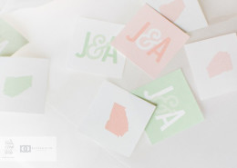 wedding confetti and paper products