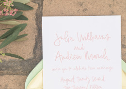 southern wedding invitation design