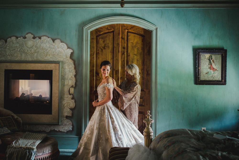 High Shoals Farm Bridal Suite