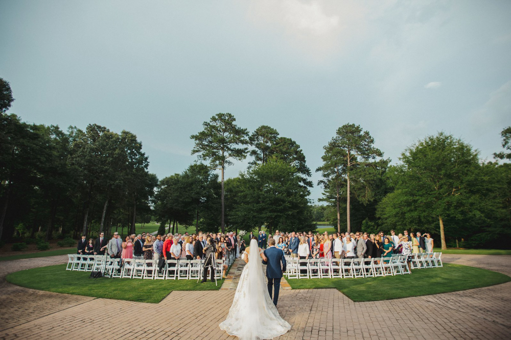 Mansion wedding at High Shoals Farm
